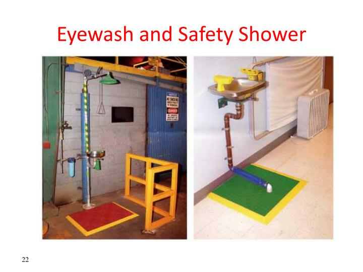 Eyewash and Safety Shower