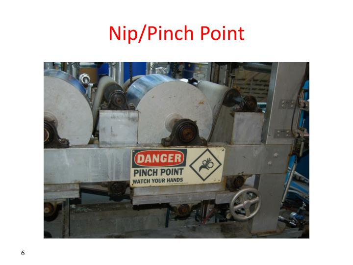 Nip/Pinch Point