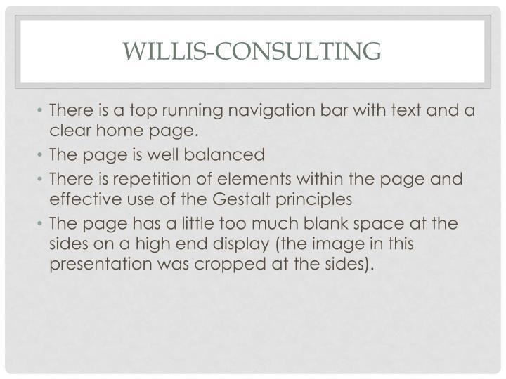 Willis-Consulting