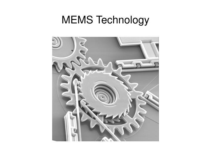 MEMS Technology