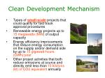 clean development mechanism1