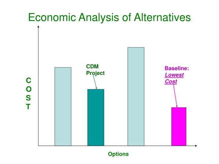 Economic Analysis of Alternatives
