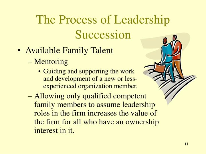 The Process of Leadership Succession