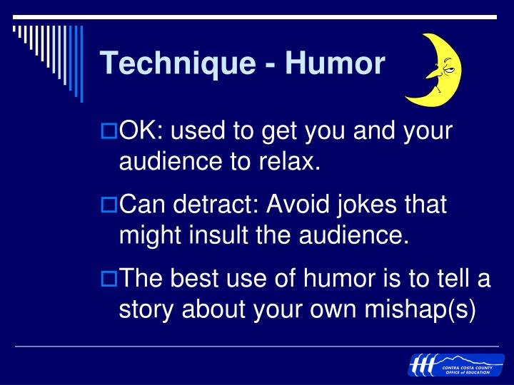 Technique - Humor