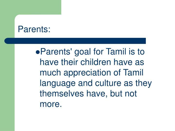 Parents: