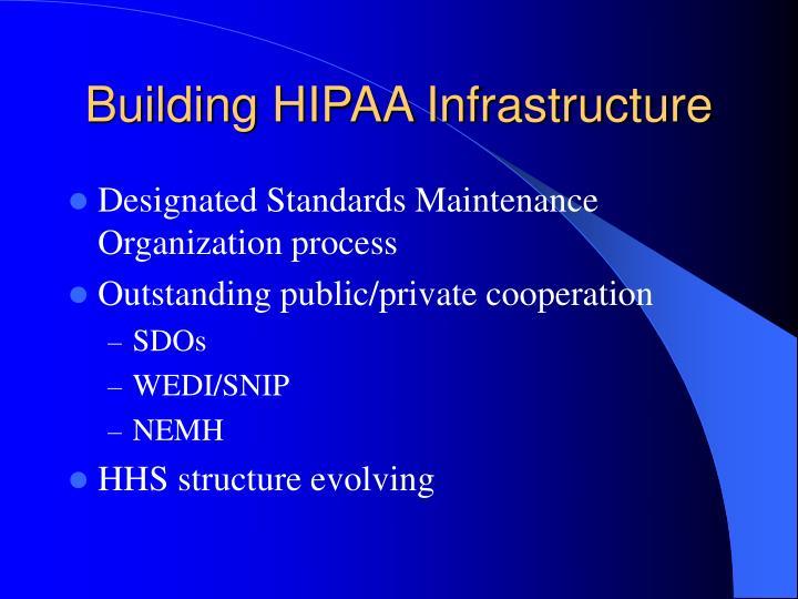 Building HIPAA Infrastructure