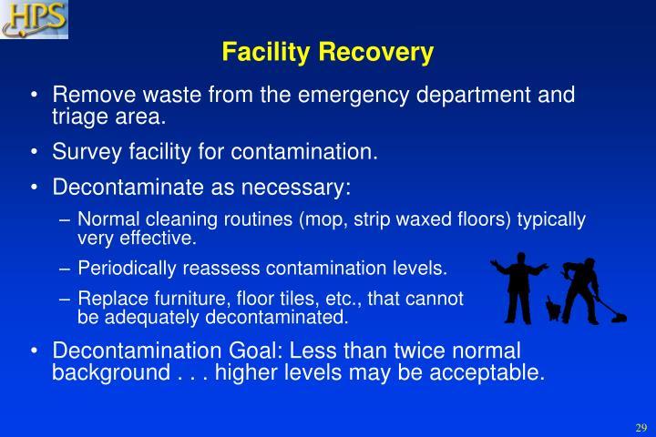 Facility Recovery