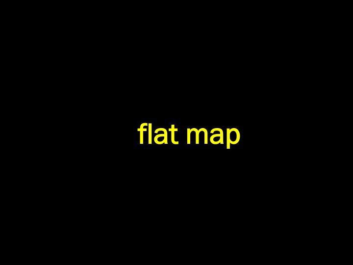flat map
