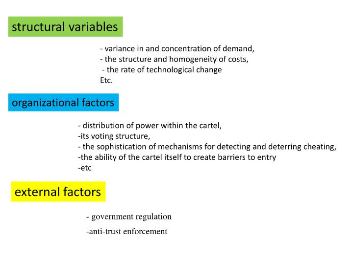 structural variables
