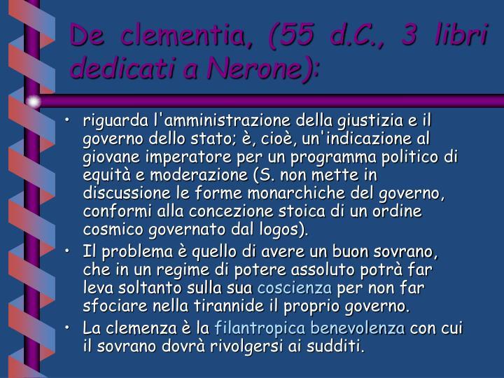 De clementia,