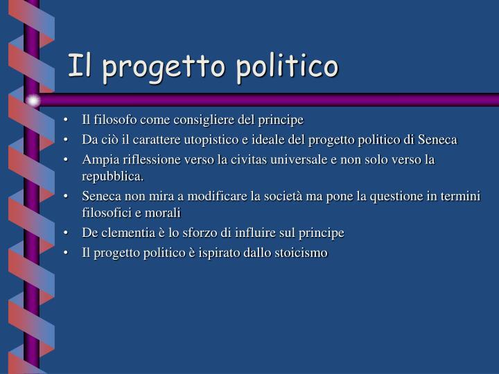 Il progetto politico