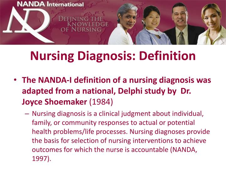 Nursing diagnosis definition