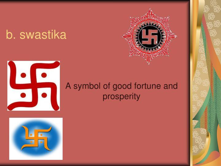 b. swastika