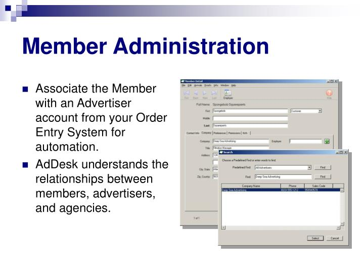 Member Administration