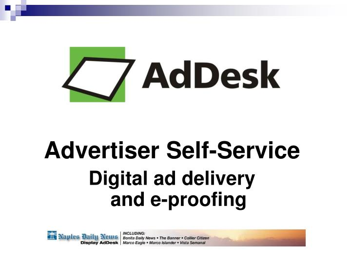 Advertiser Self-Service