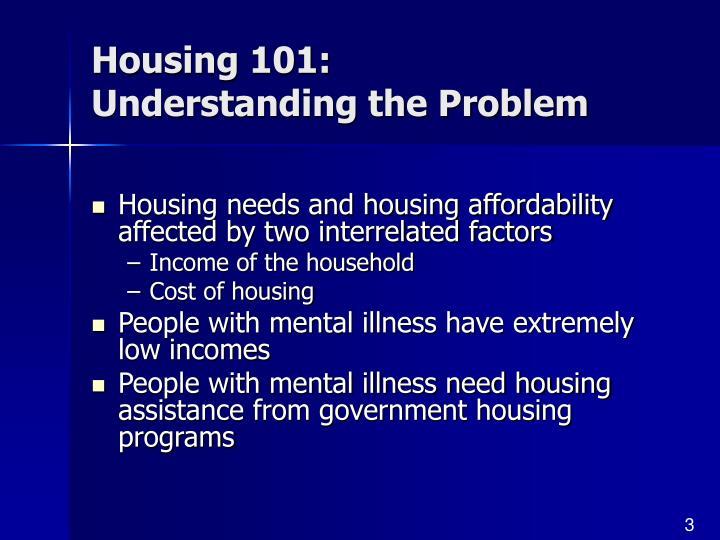 Housing 101: