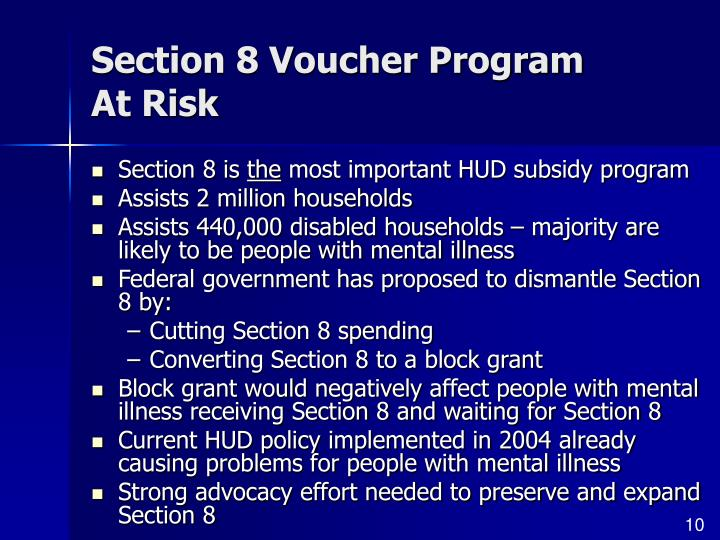 Section 8 Voucher Program