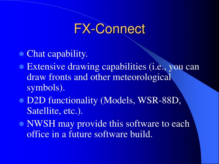 FX-Connect