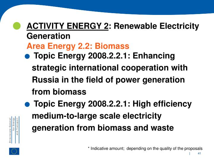 ACTIVITY ENERGY 2