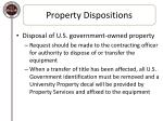 property dispositions5