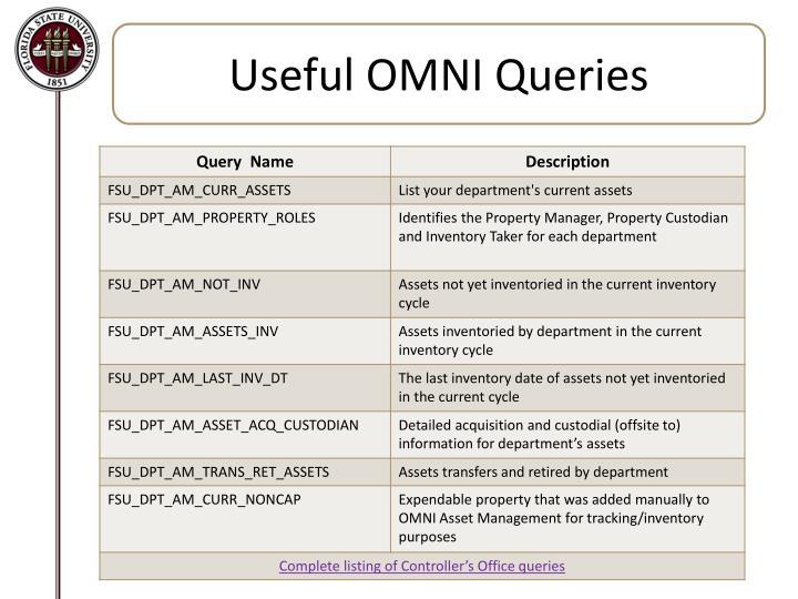 Useful OMNI