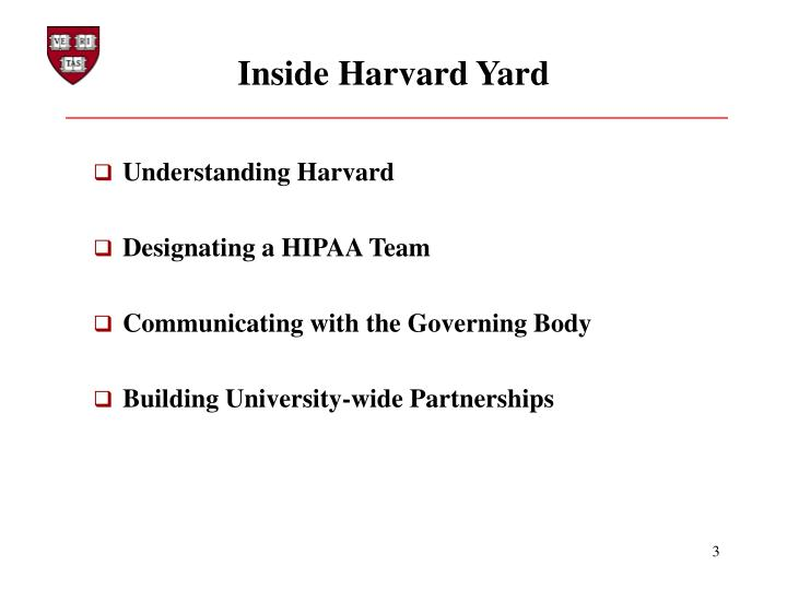 Inside Harvard Yard