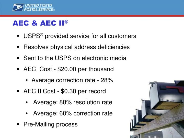 AEC & AEC II