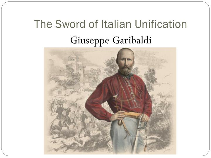 The Sword of Italian Unification