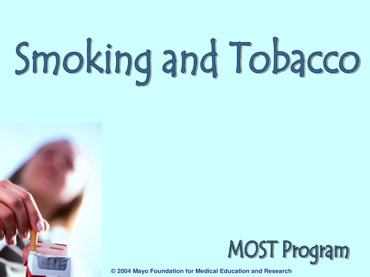 a discussion of the harm and effects of smoking