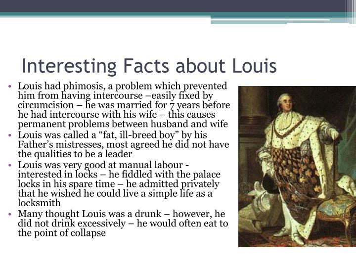 Interesting Facts about Louis