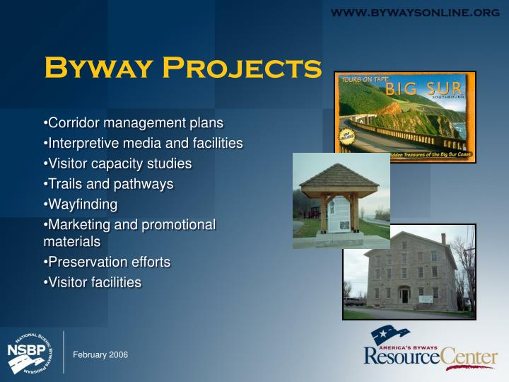 Byway Projects