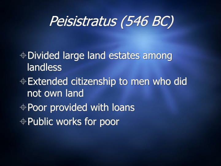 Peisistratus (546 BC)