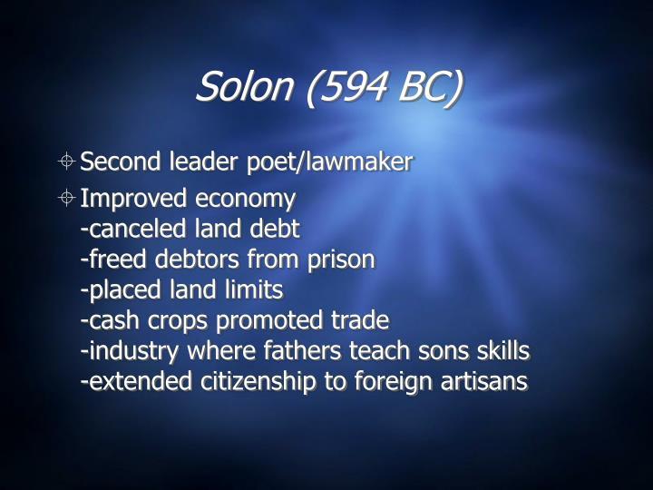 Solon (594 BC)