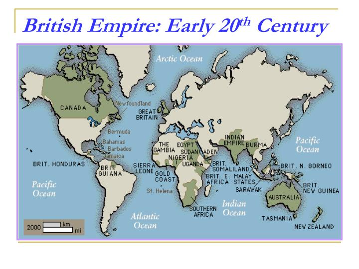 British Empire: Early 20