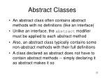 abstract classes1