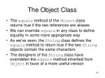 the object class2