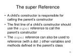 the super reference1