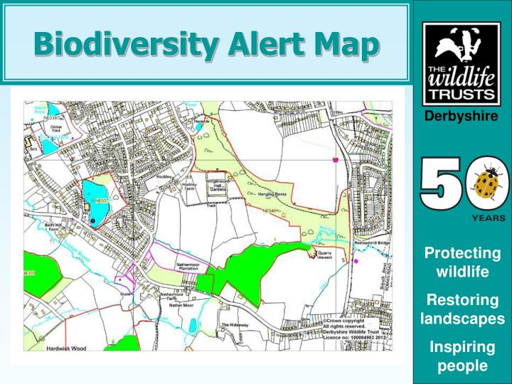 Biodiversity Alert Map