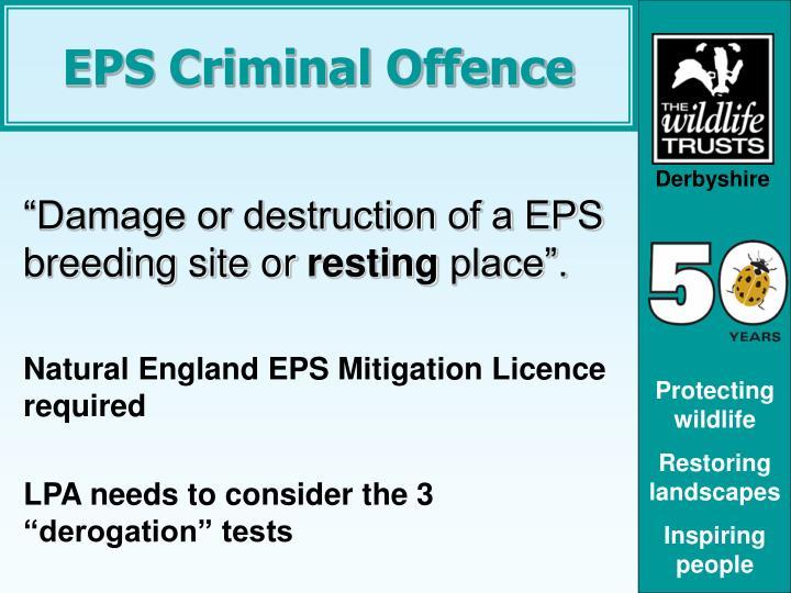 EPS Criminal Offence