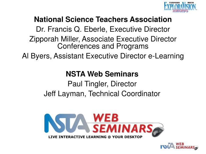 National Science Teachers Association
