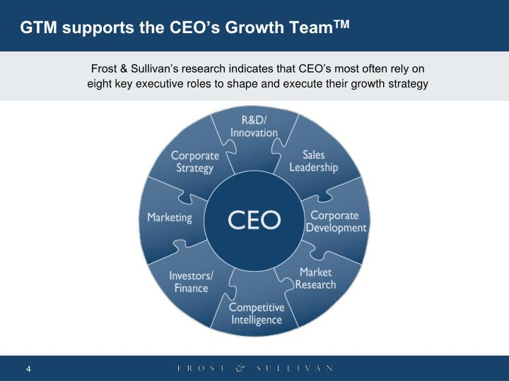 GTM supports the CEO's Growth Team