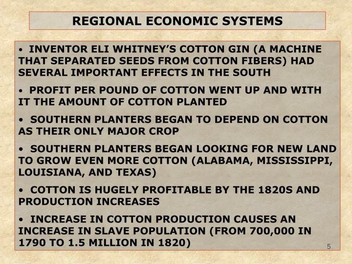 REGIONAL ECONOMIC SYSTEMS