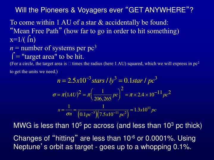 Will the Pioneers & Voyagers ever