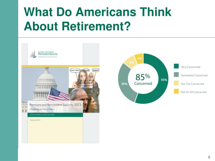 What Do Americans Think About Retirement?