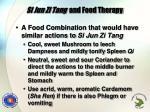 si jun zi tang and food therapy1