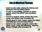 yue ju wan food therapy