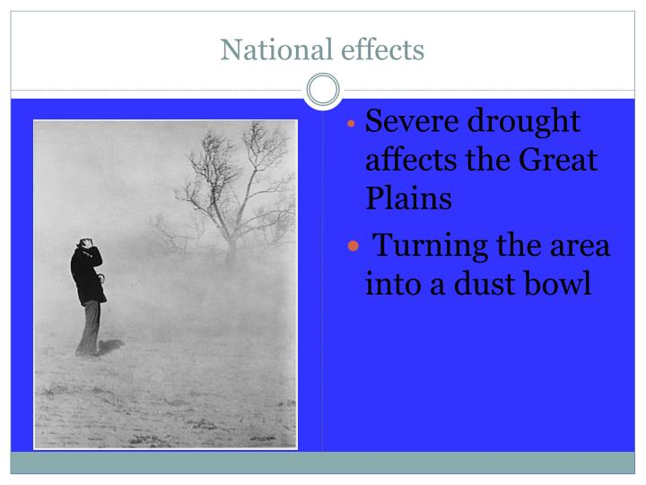 National effects