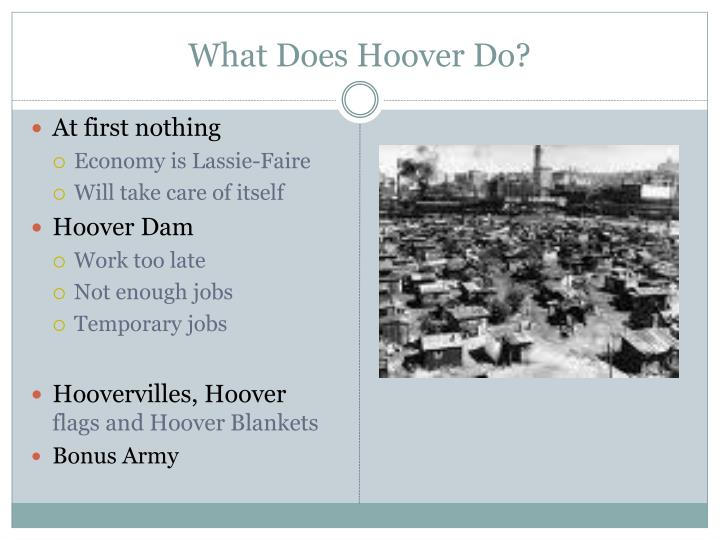 What Does Hoover Do?