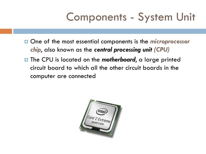 Components - System Unit