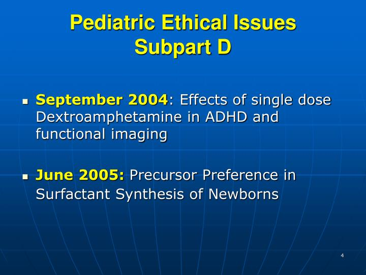 Pediatric Ethical Issues